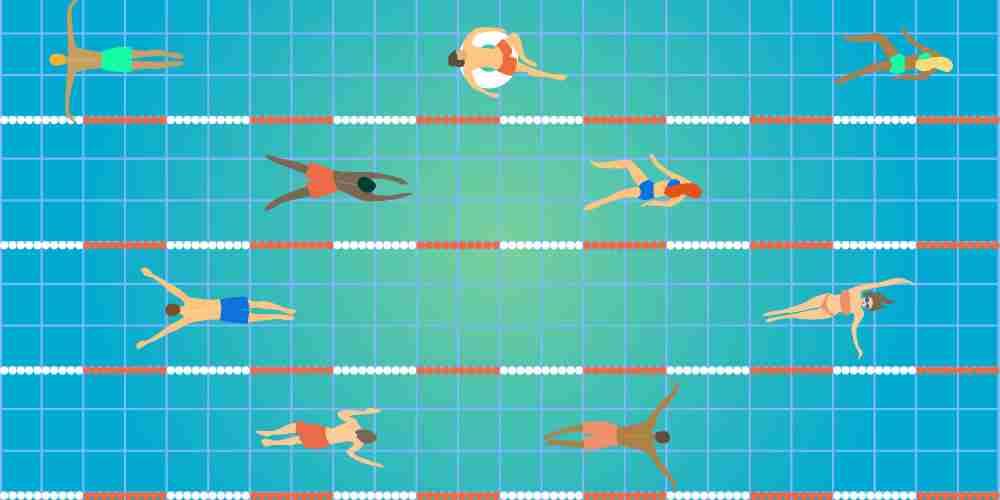 swimming pool length