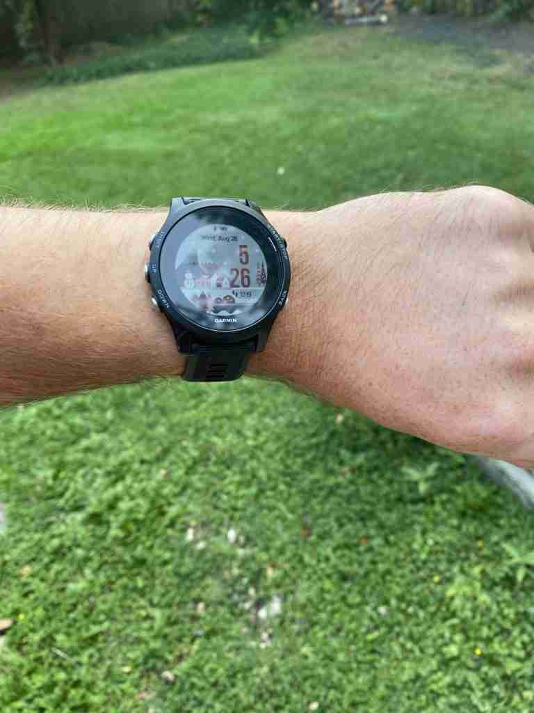 garmin forerunner 935 on a wrist