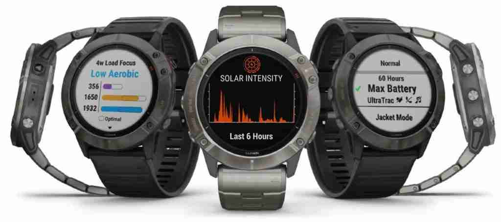 garmin fenix 6x watch faces