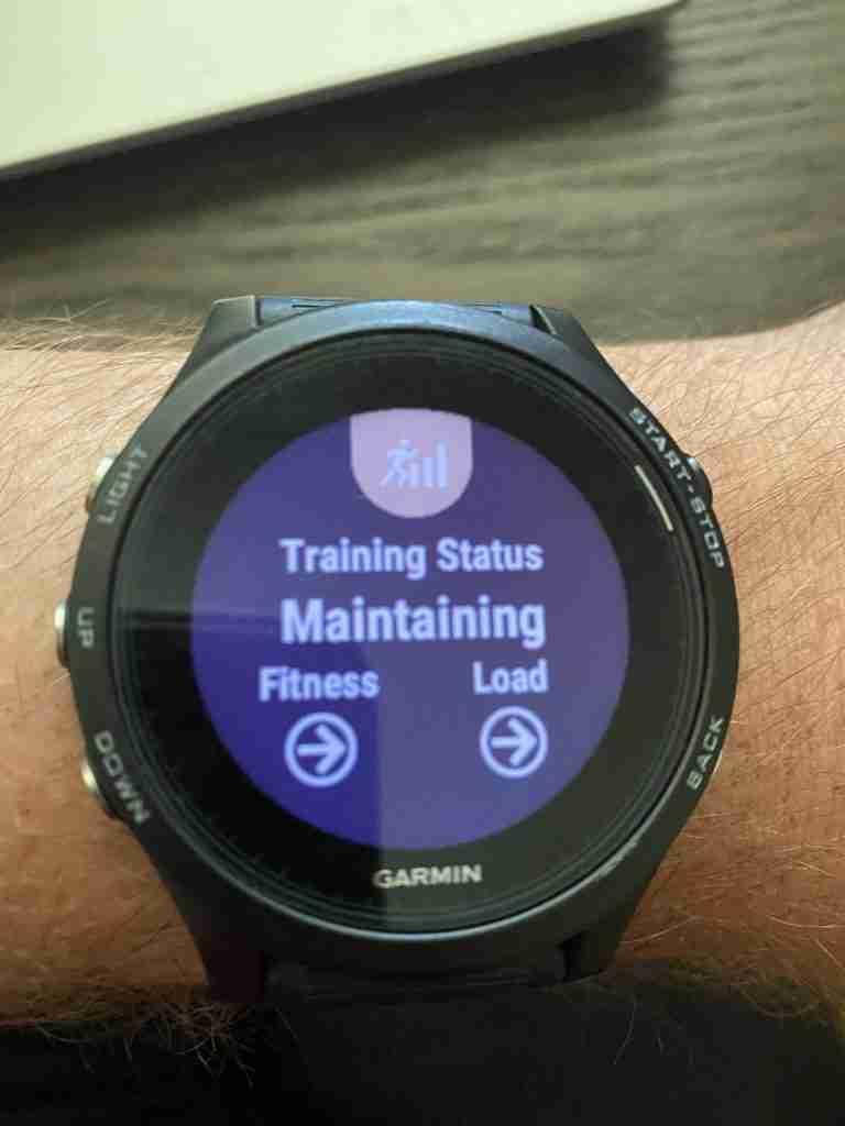 Garmin 935 Watch Interface Image